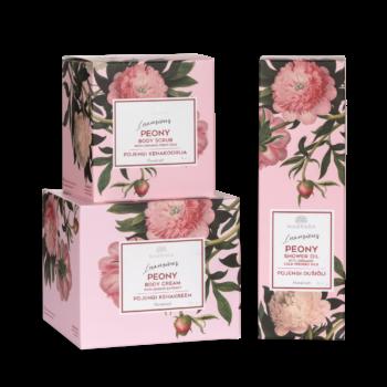 kinkekomplekt pojeng kingitus naisele emale emadepäeva kink naistepäev valentinipäev eesti looduskosmeetika romantiline
