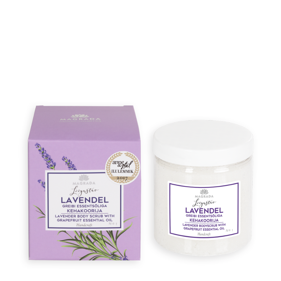 Lavender-scrub