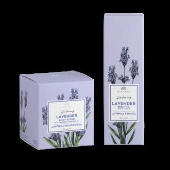 kingitus mida kinkida naisele magrada lavendli kehaõli lavendliõli lõõgastav uneõli uneeliskiir rahustav lavendli kehakoorija greibi essentsõliga magrada lõõgastav koorija